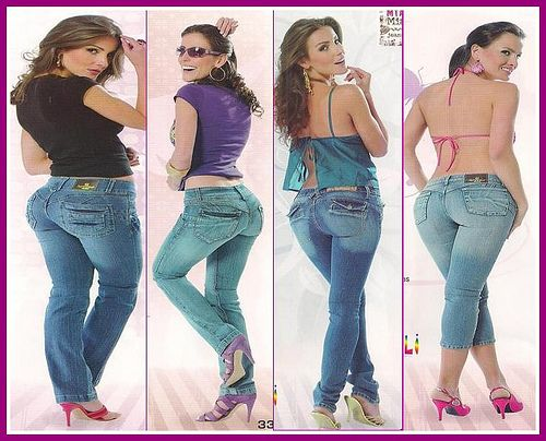 Estilos De Jeans Que Estan De Moda Este 2011 Latinol Com Spotfashion