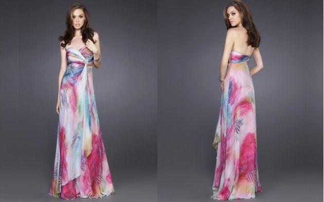 Vestidos largos coloridos de fiesta