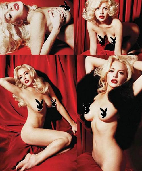 Lindsay Lohan posa desnuda para Playboy E! Online