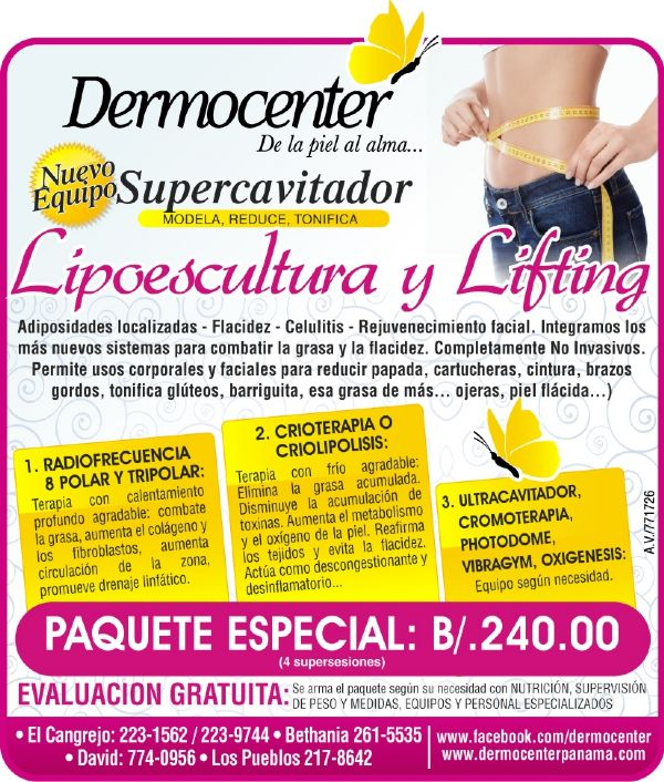 Dermocenter paquetes especiales con nuevas tecnolog�as Foto 1