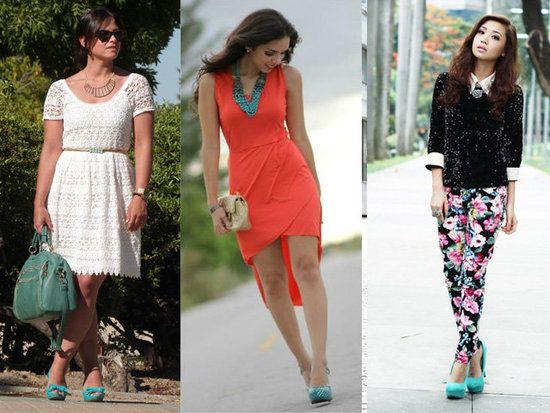 U00bfComo Combinar Zapatos Turquesas? | LatinOL.com SpotFASHION