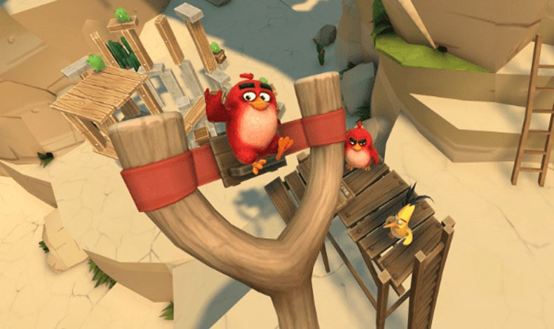 Angry Birds regresa en realidad virtual