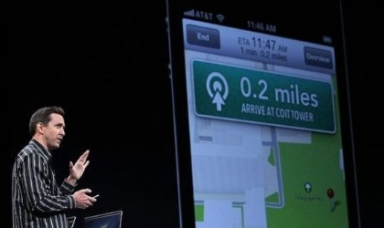 Apple y Tomtom  contra Google Maps