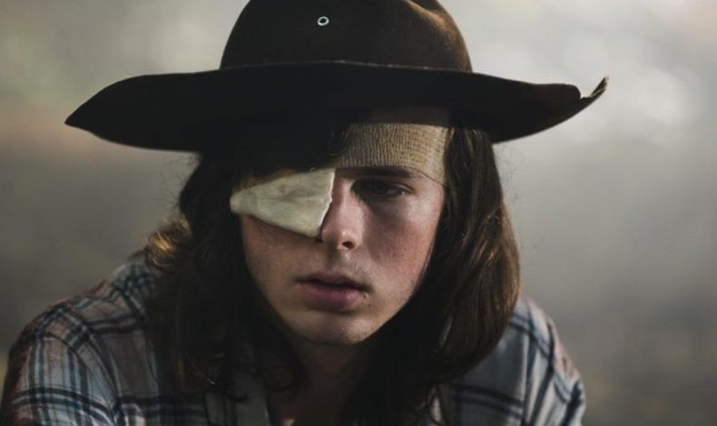 Chandler Riggs no está contento con su actuación en 'The Walking Dead'