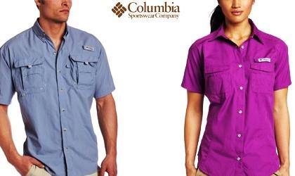Camisas Columbia están muy de moda  b53f6502286