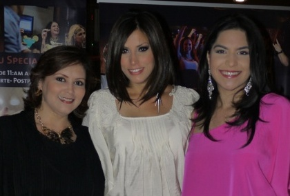 Fotos de Grettel Garibaldi y amigas en Rock and Pop Live