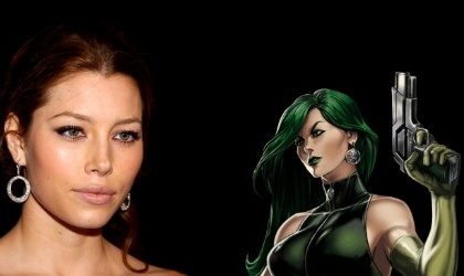 Jessica Biel interpretar� a V�bora en The Wolverine