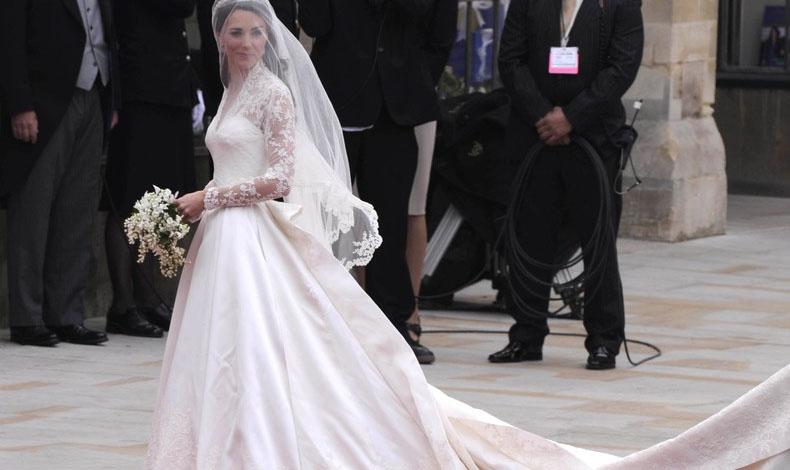 Segundo vestido de boda de kate