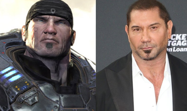 Dave Bautista quiere interpreter a Marcus Fenix Gears of War
