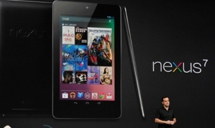 Google, presenta a la tableta Nexus 7