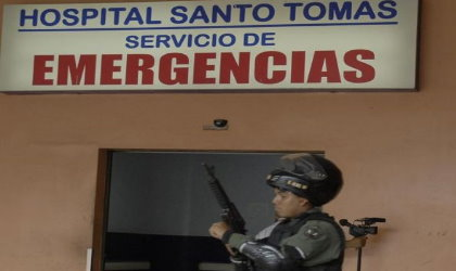Noriega sigue internado en el Santo Tom�s