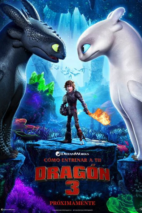 Cómo entrenar a tu dragón 3 - How to Train Your Dragon: The Hidden World