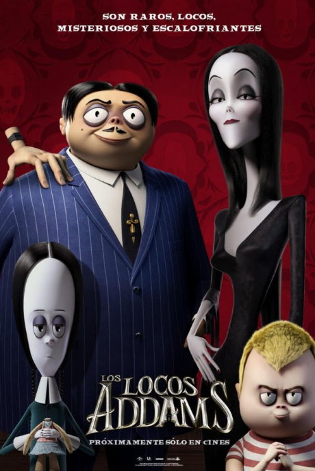 Locos Addams - The Addams Family