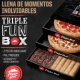 NUEVA! Triple Fun Box de Pizza Hut