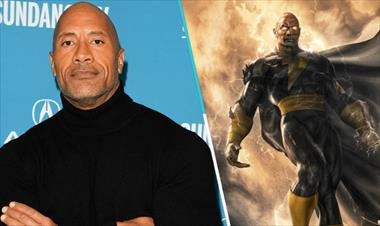 Dwayne Johnson da a conocer fecha y poster de 'Black Adam'