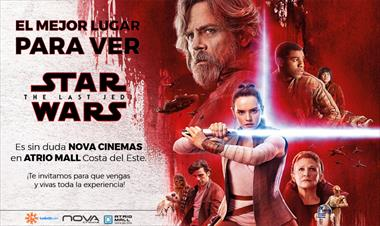 Participa y gana boletos para STAR WARS: THE LAST JEDI