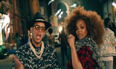 Janet Jackson lanzó Made for now junto a Daddy Yankee